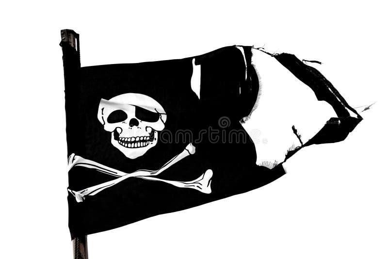 piracka flaga zdjęcie royalty free