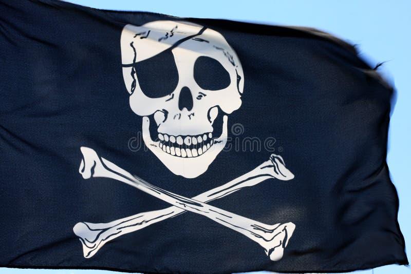 piracka flaga fotografia stock