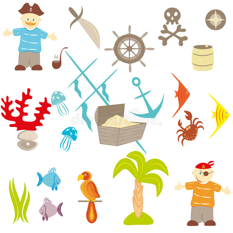 Download Piracy Set Stock Photography - Image: 23674282