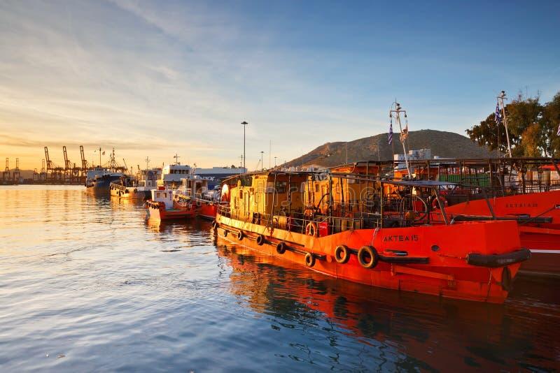 piraeus imagen de archivo libre de regalías