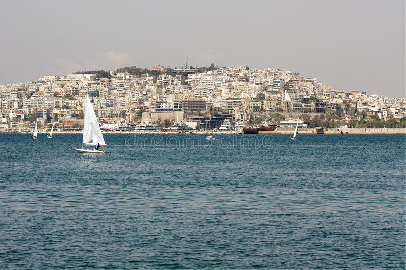 Download Piraeus City, Greece Royalty Free Stock Photo - Image: 9163805