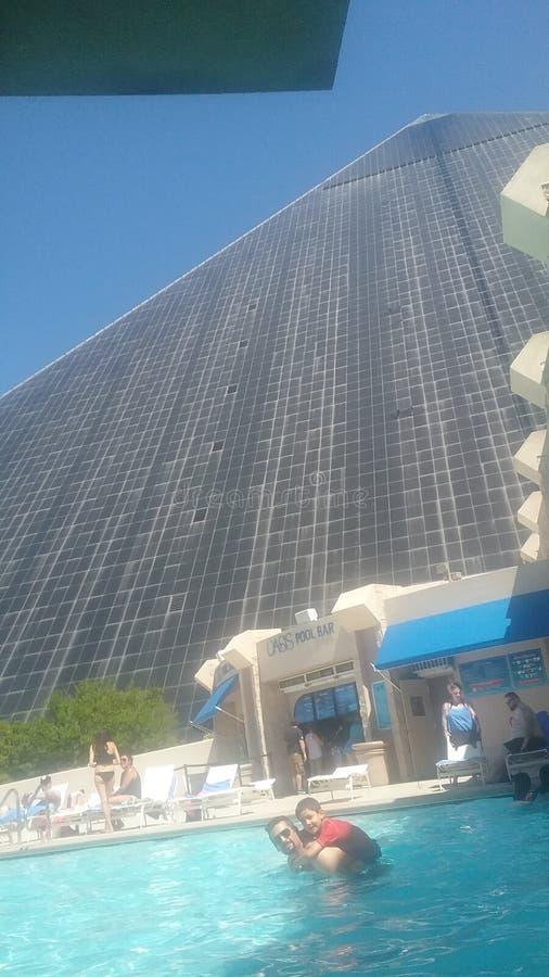 Piramid卢克索 库存照片