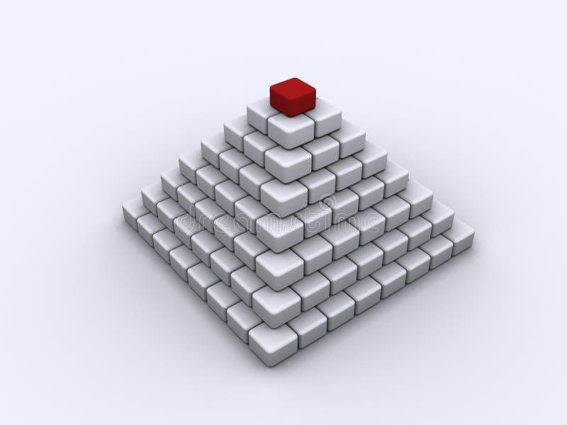 piramida ilustracji
