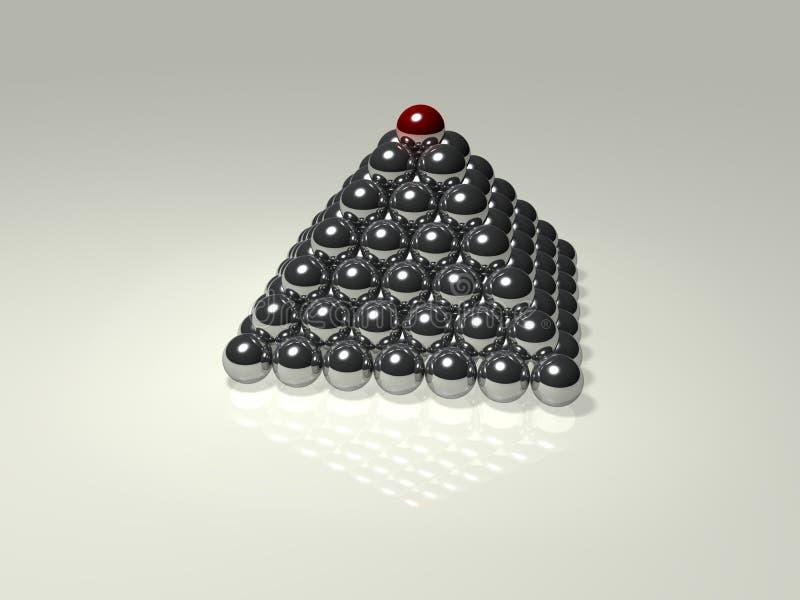 piramida royalty ilustracja