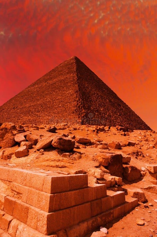 piramida fantazji zdjęcie stock
