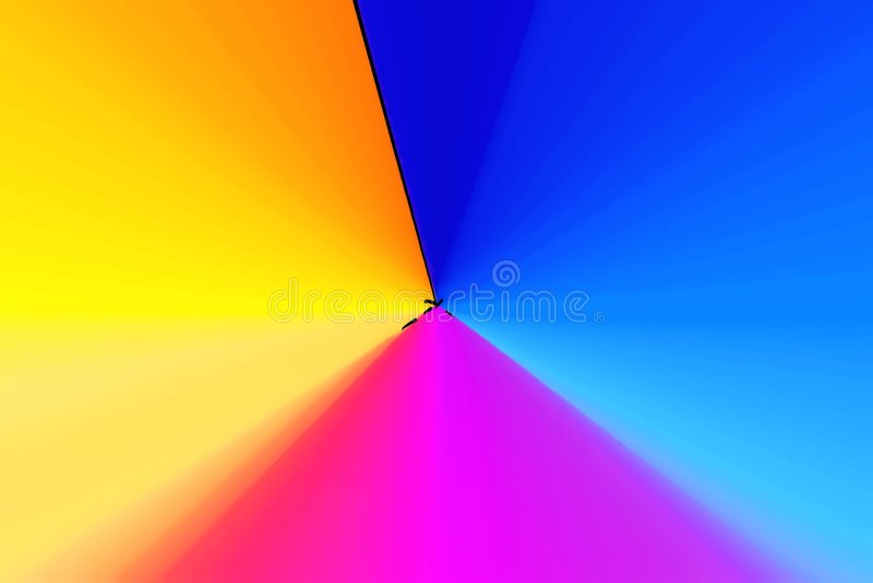 piramida farbuje 3 ilustracji