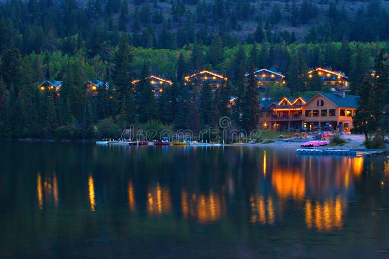 piramida kabiny jeziora. obrazy royalty free