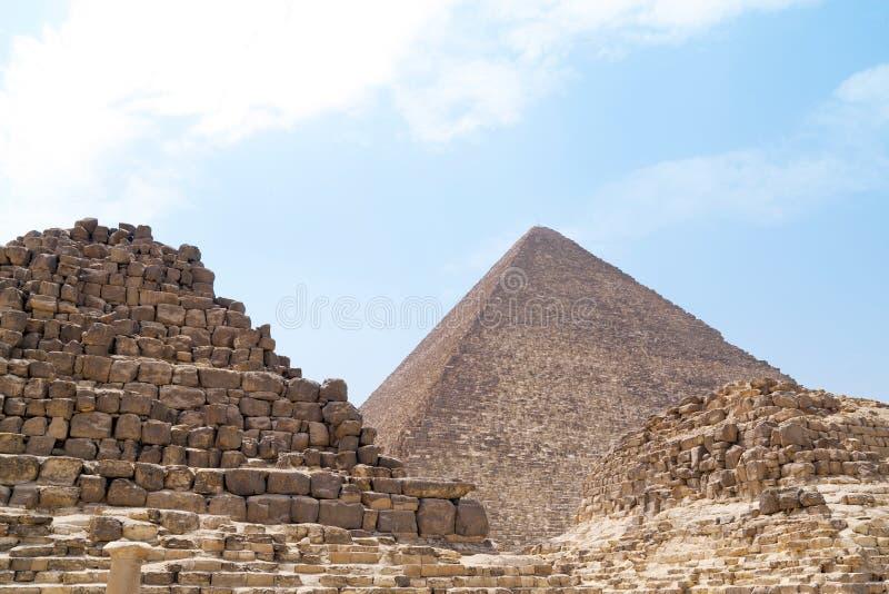 Piramide fotografie stock