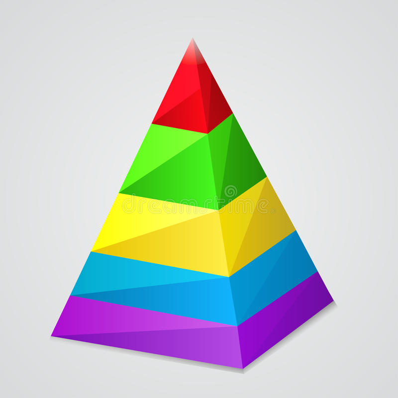 Piramide vector illustratie