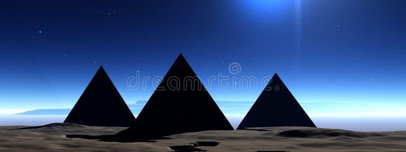 Piramide 7 royalty-vrije illustratie