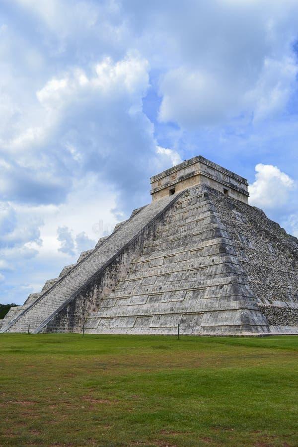Piramide del Kukulkan immagine stock libera da diritti