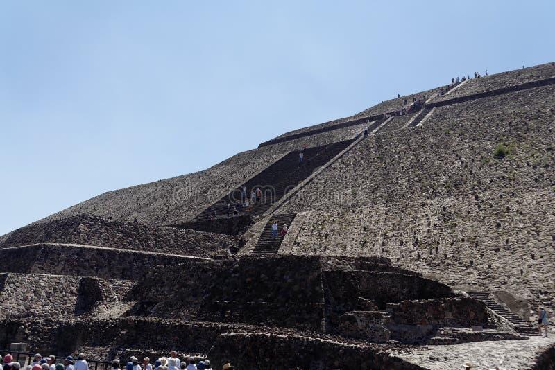 Piramide del Sun fotografia stock libera da diritti