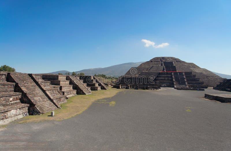 Piramide della luna fotografie stock libere da diritti