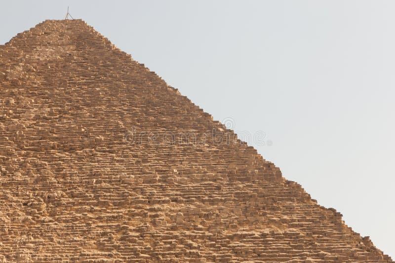 Piramide di Giza, Egitto fotografie stock