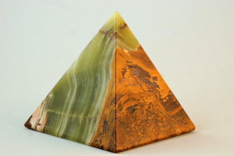 Piramide di onyx immagini stock libere da diritti