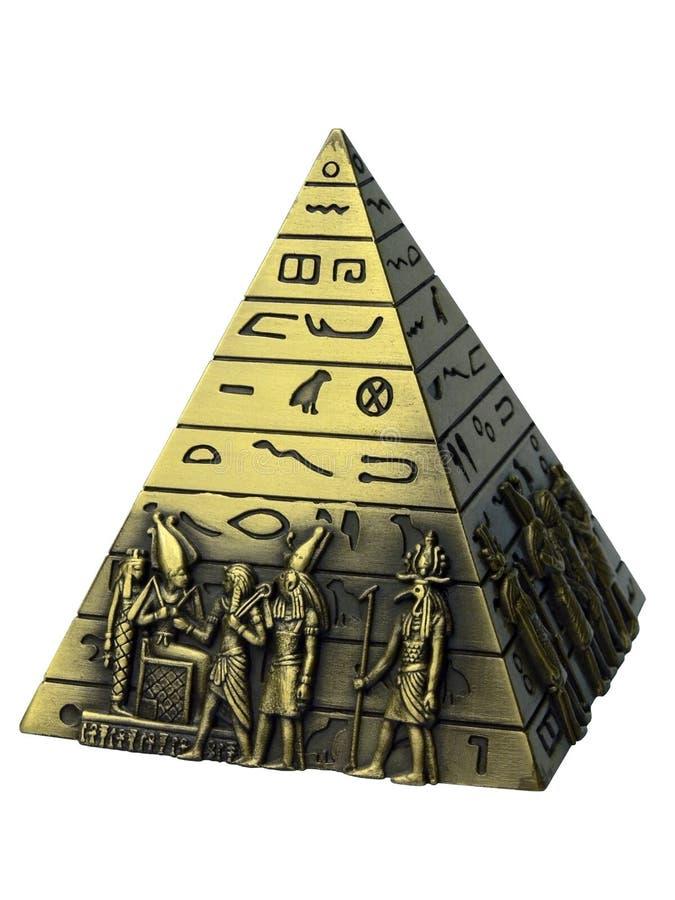 Piramide - ricordo dall'Egitto immagine stock libera da diritti