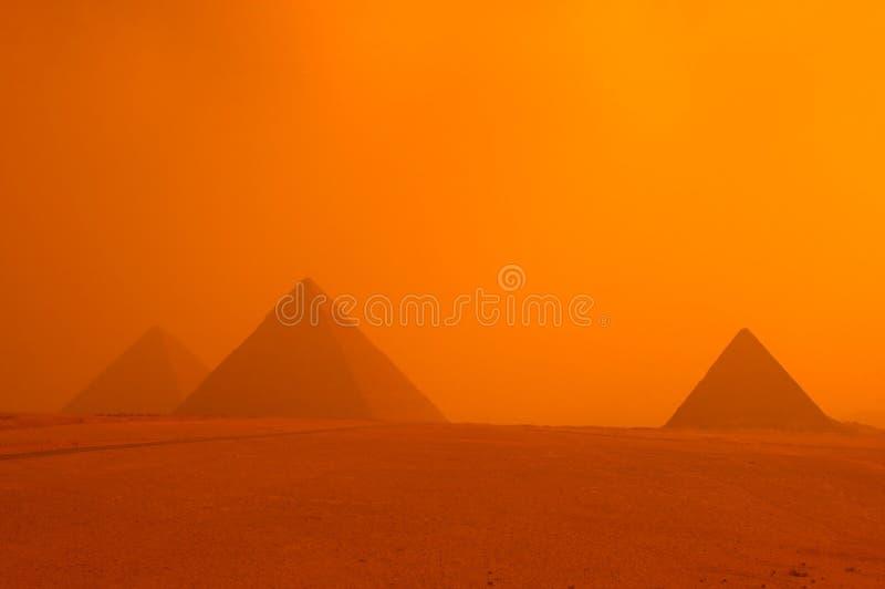 Piramide van eygpt royalty-vrije stock afbeelding