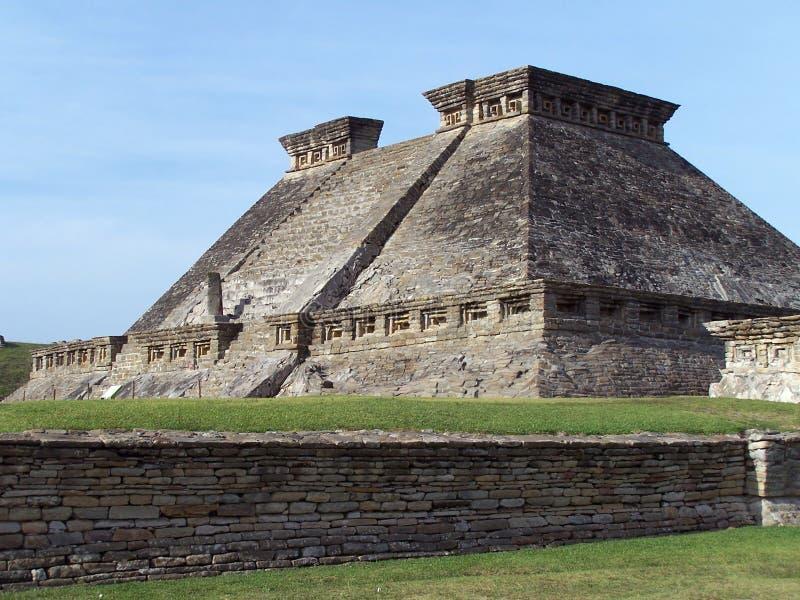 Piramide van Tajin. stock foto