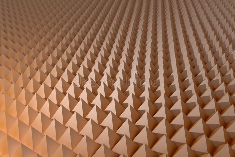 piramides stock illustratie