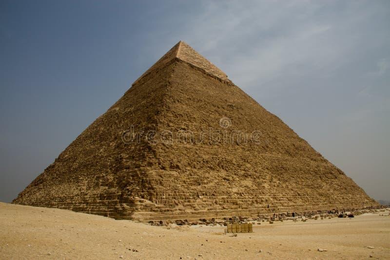 Piramides van Egypte royalty-vrije stock afbeelding