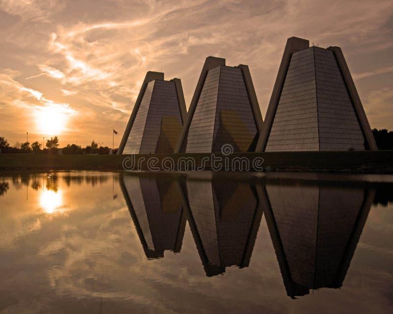 Piramidi fotografia stock libera da diritti