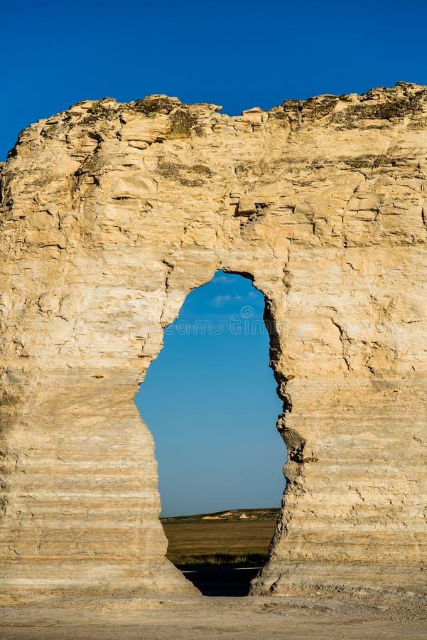Piramidi del gesso della roccia del monumento immagini stock