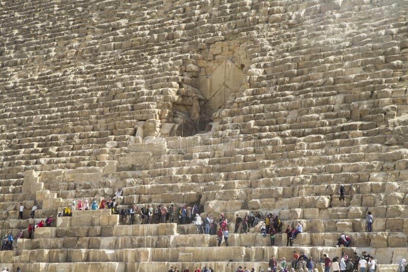 Piramidi di Giza Egypt immagini stock