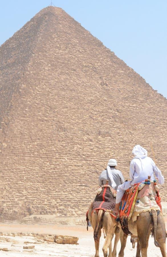 Piramidi di Gizeh Giza immagine stock