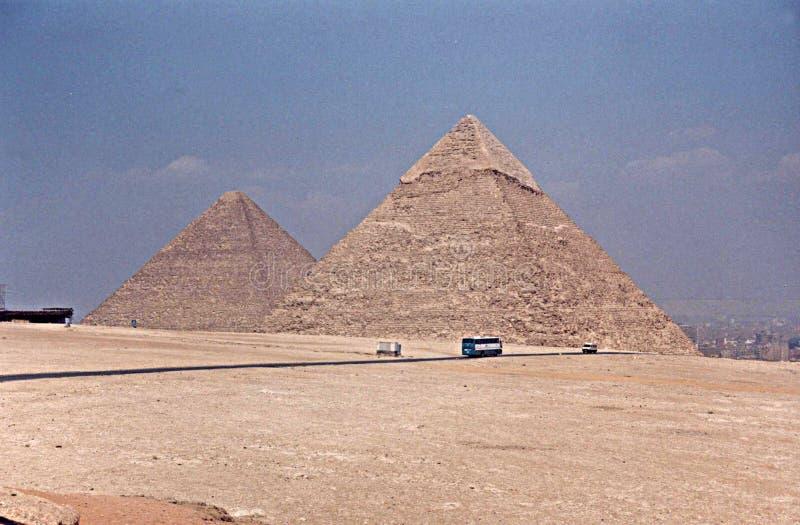 Piramidi Egitto di Giza immagini stock libere da diritti