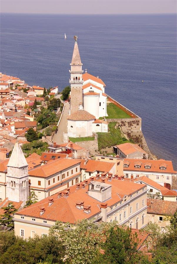 Piran, Slovenia foto de stock royalty free