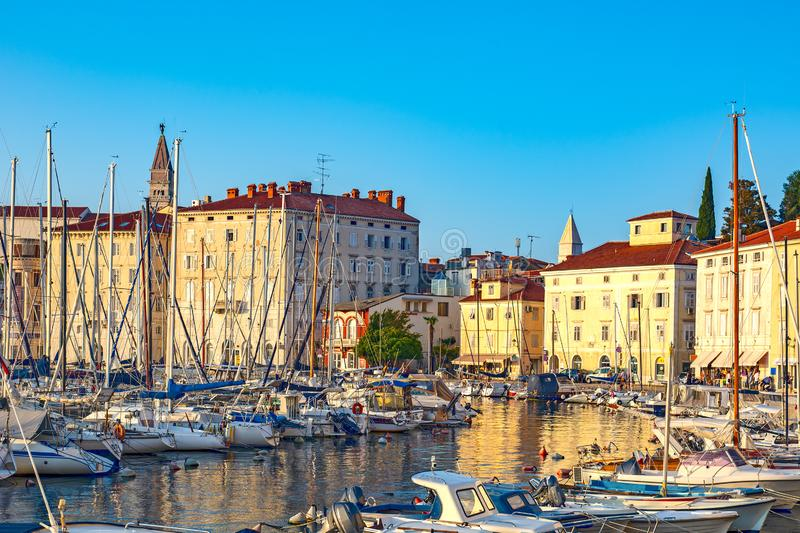Piran, Slovenia stock photos