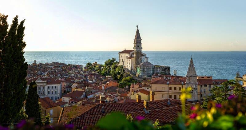 Piran Slovenien royaltyfri bild