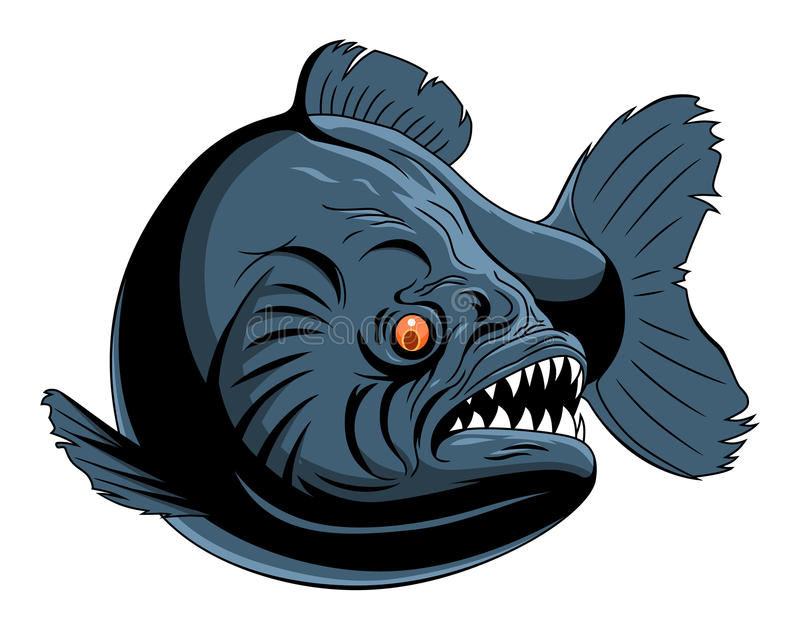 piranha stock illustratie
