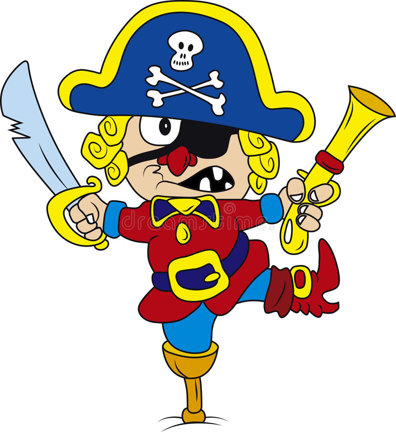 pirat illustration de vecteur