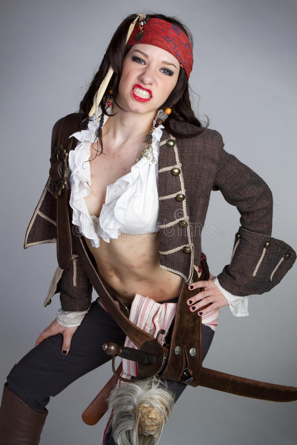 Pirat lizenzfreie stockfotos