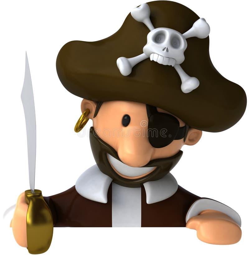 Pirat vektor abbildung
