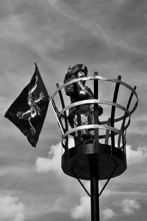 Pirat Beeston kędziorek obraz royalty free