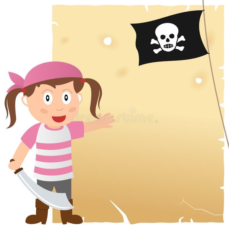Pirat dziewczyna i Stary pergamin