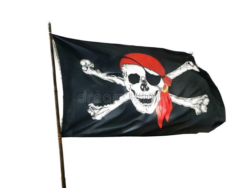 Pirat flaga zdjęcia stock