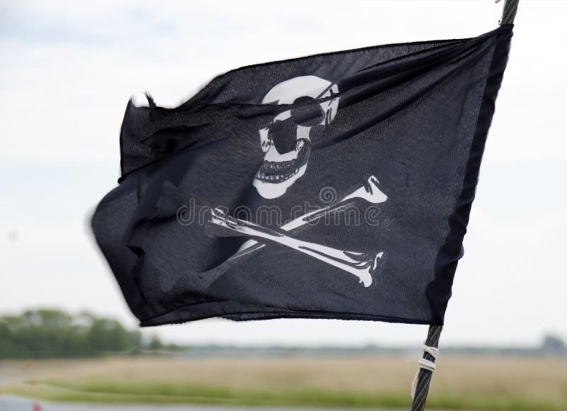 Pirat flaga zdjęcie royalty free