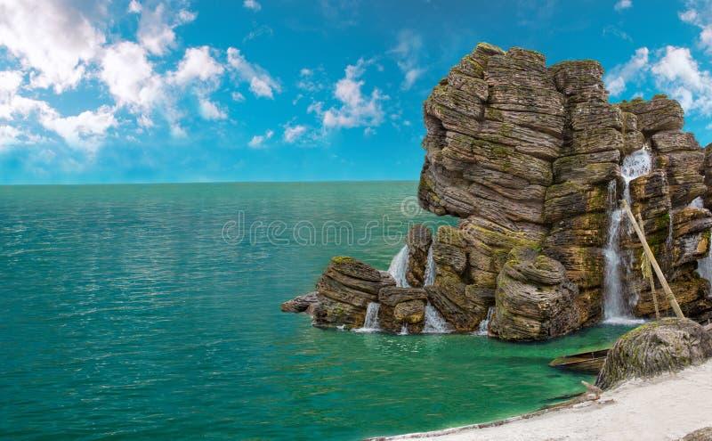 Pirat wyspa zdjęcie stock