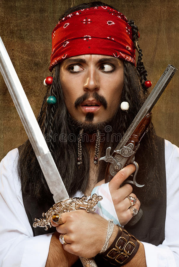 Pirata fotos de archivo