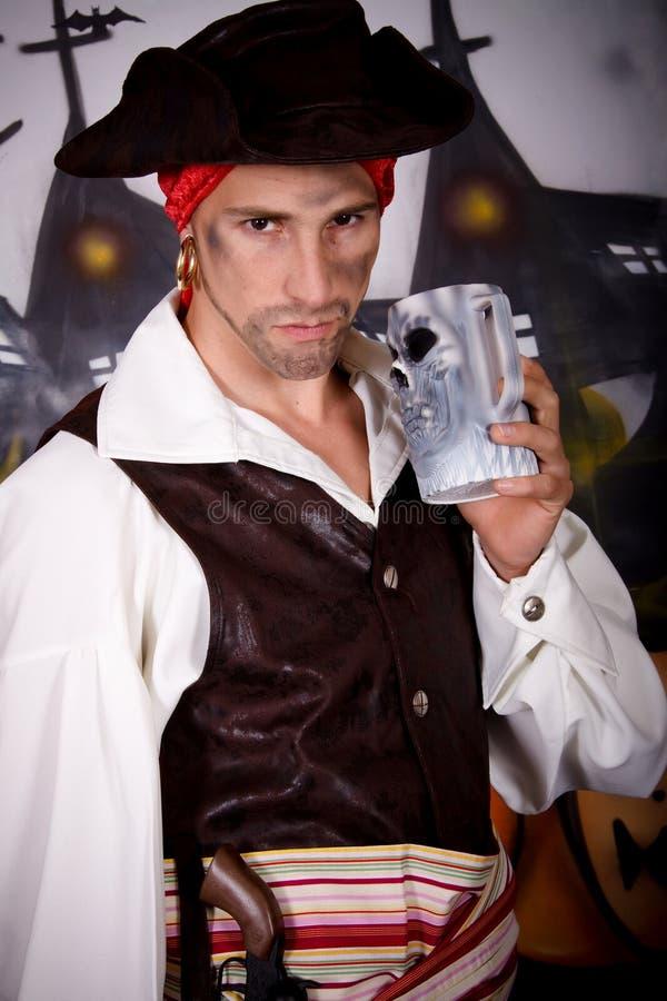 Pirata de Halloween fotos de stock