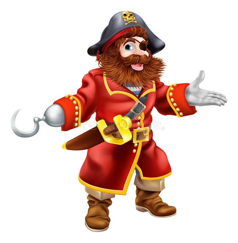 Pirata de la historieta libre illustration