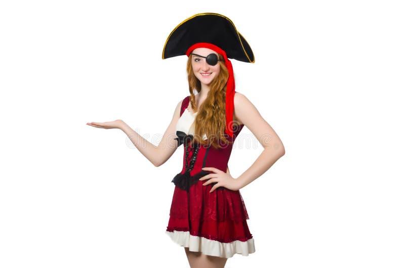 Download Pirata de la mujer aislado imagen de archivo. Imagen de criminal - 41916161