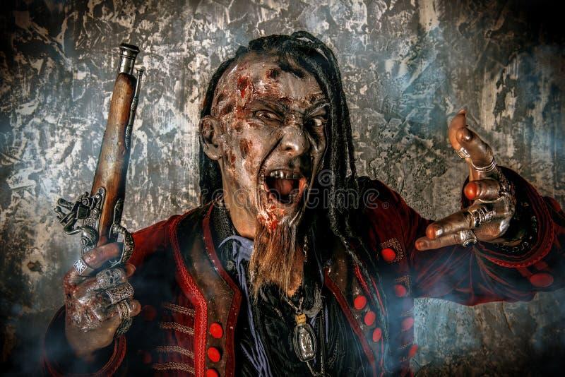 Pirata de Rodger foto de archivo libre de regalías