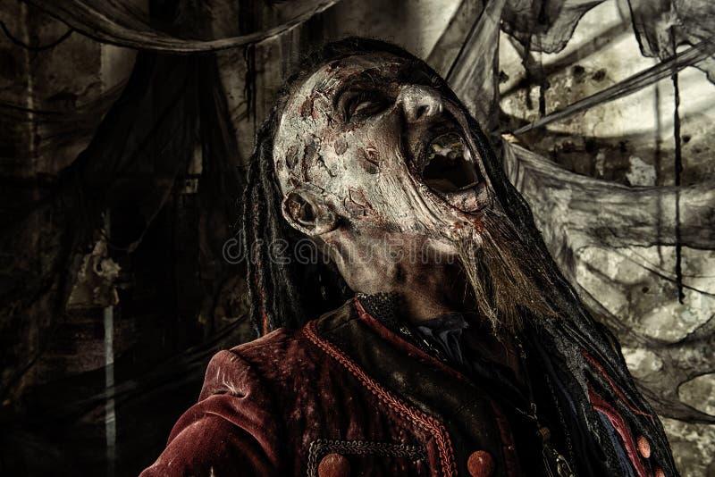 Pirata de sofrimento fotografia de stock royalty free