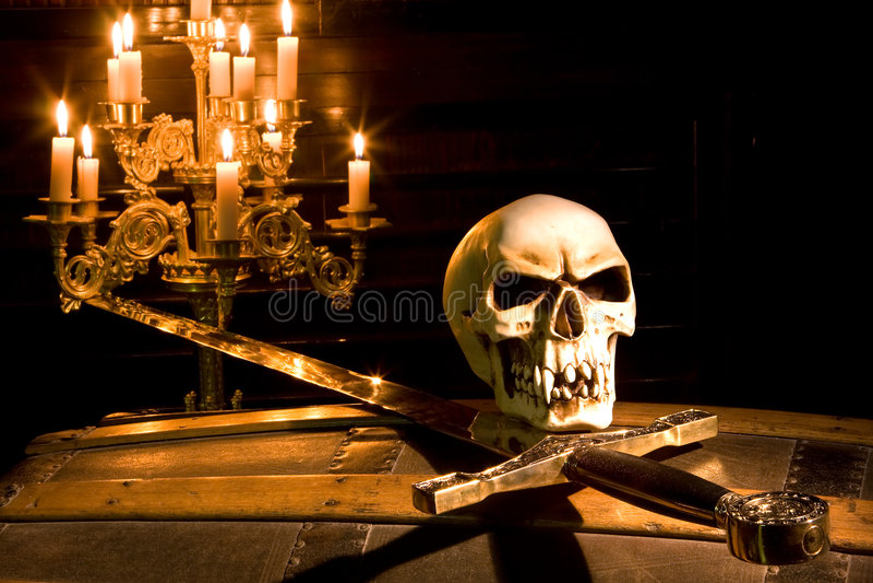Pirata di Halloween immagini stock libere da diritti