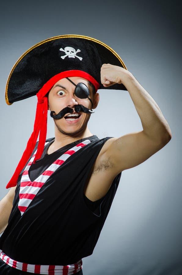 Pirata divertente fotografia stock