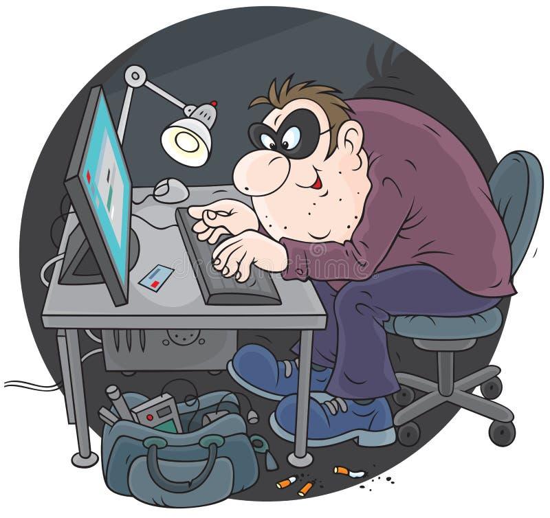 Pirata informatico royalty illustrazione gratis